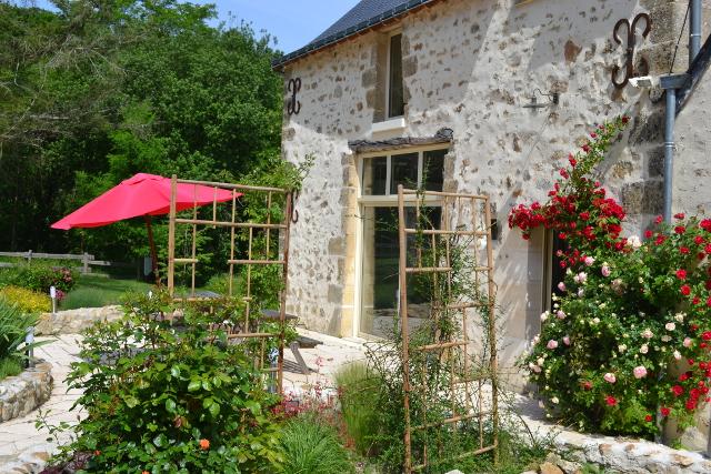 Chambre hote et gite rural ecologique proche tours a azay for Azay le rideau chambre d hote